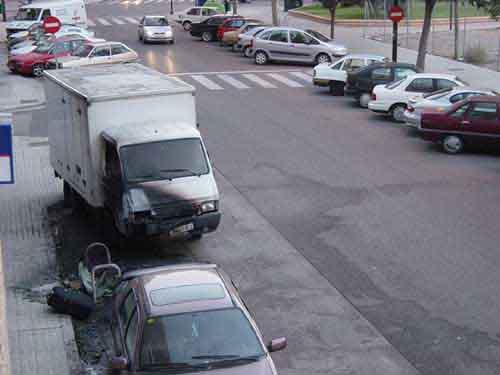 El camión de Javier Torres